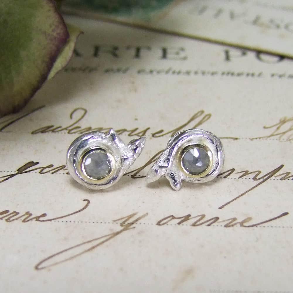 Bespoke Diamond Earrings