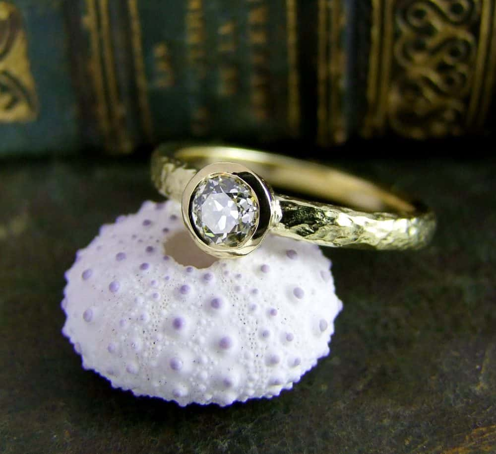Ring Remodelling Using Customers Own Gold