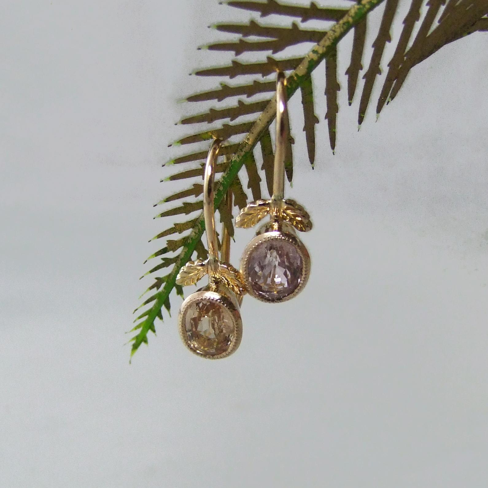Mismatch Natural Sapphire Earrings