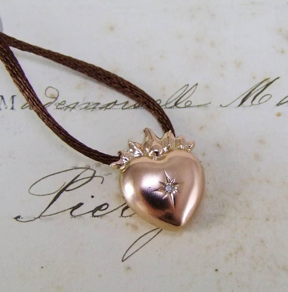 Other bespoke jewellery alexis dove jewellery sacred heart pendant aloadofball Images
