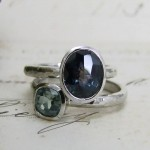 Unusual Sapphire Engagement Rings