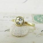 Yellow Sapphire Handmade Ring