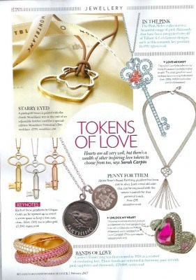 Country and Townhouse February 2013 Token of love