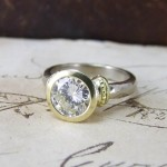 Unusual Diamond Engagement Ring