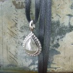 Grey Rosecut Diamond Pendant
