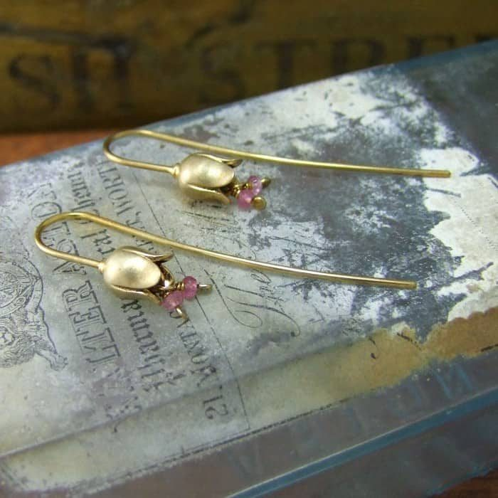 Belle Solid Hook Earrings