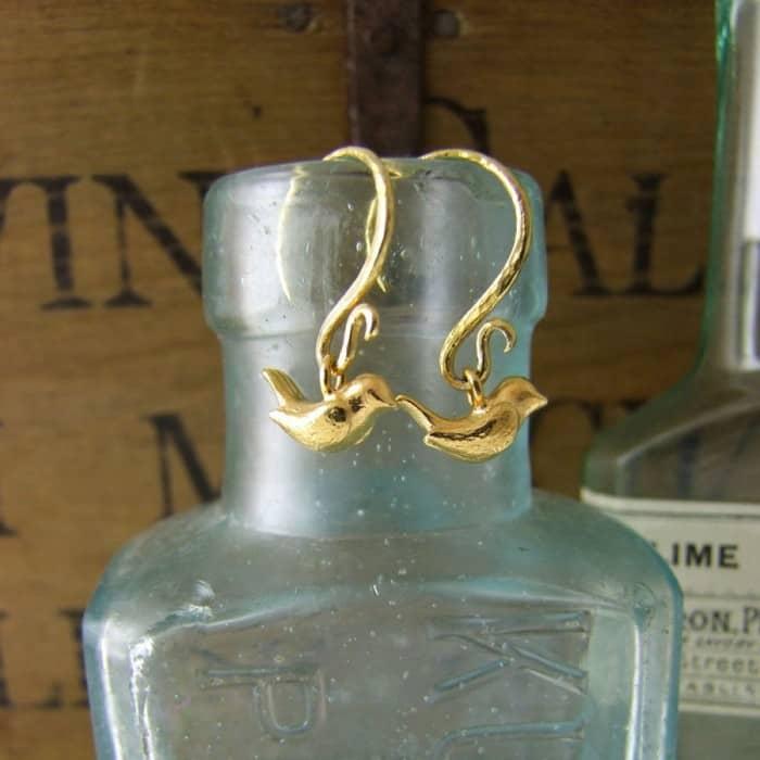 Wren Hook Earrings