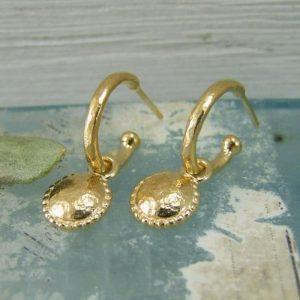 Hoop Stud Earrings