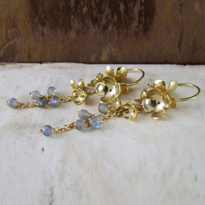 Blossom Lilac Earrings