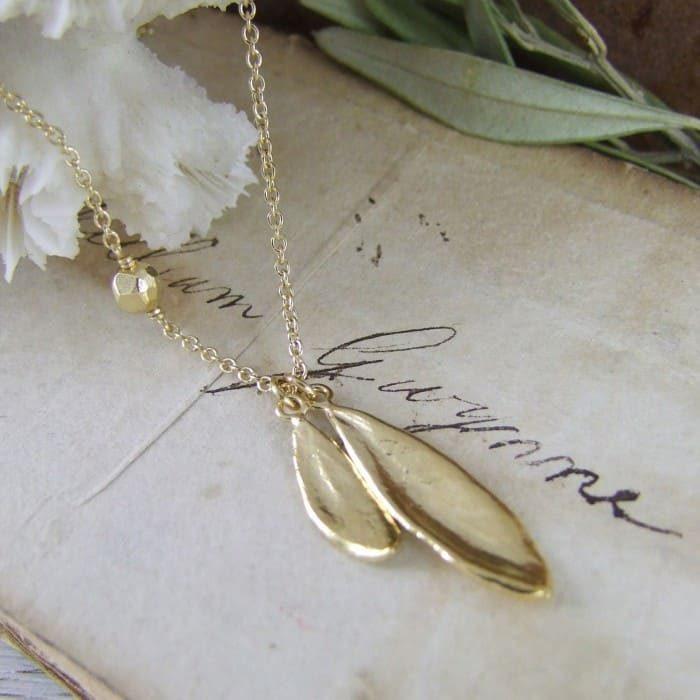 Aphrodite Leaf Pendant