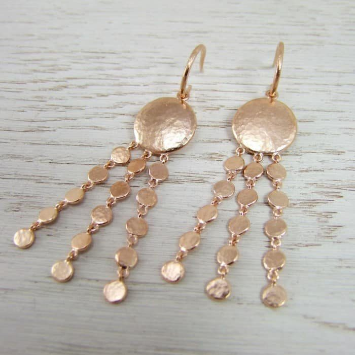 Helios Long Cascade Earrings