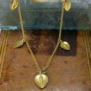 Sarissa Five Leaf Necklace