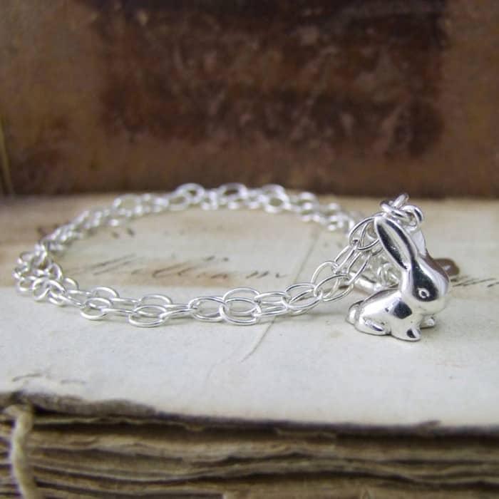 Vintage Bunny Bracelet Alexis Dove Jewellery