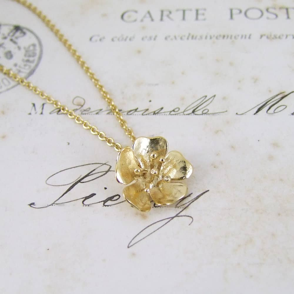 heart au necklace tiny il dainty small pendant gold listing