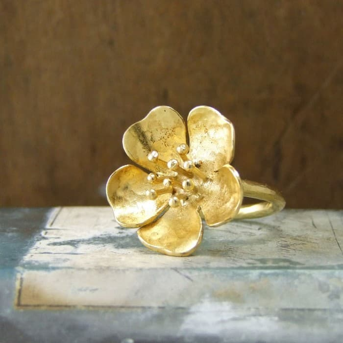 Wild Rose Small Ring