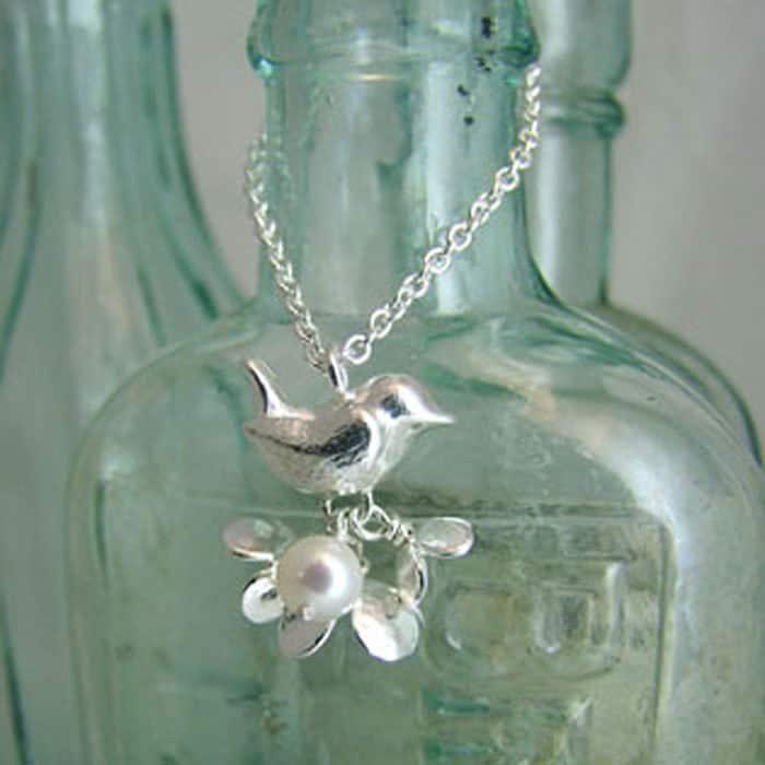 Wren & Blossom Pendant