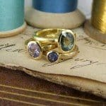 Blue Sapphires Rings
