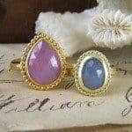 Rosecut Sapphire Rings