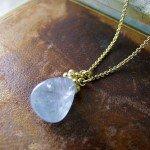 Sapphire Pebble Pendant