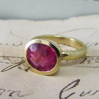 Amara Pink Tourmaline Ring