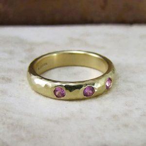 Pink-Sapphire-Wedding-Ring