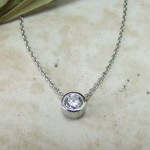 ple Diamond Pendant