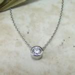 ple Diamond Pendant