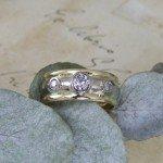 Diamond Bombe Ring
