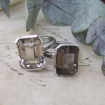 Quartz & Palladium Rings