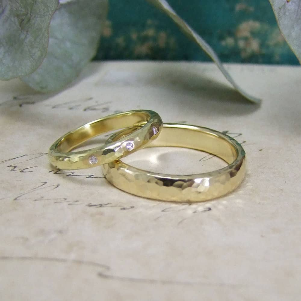 Handmade Bespoke Wedding Rings