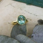 Paraiba Tourmaline Handmade Ring