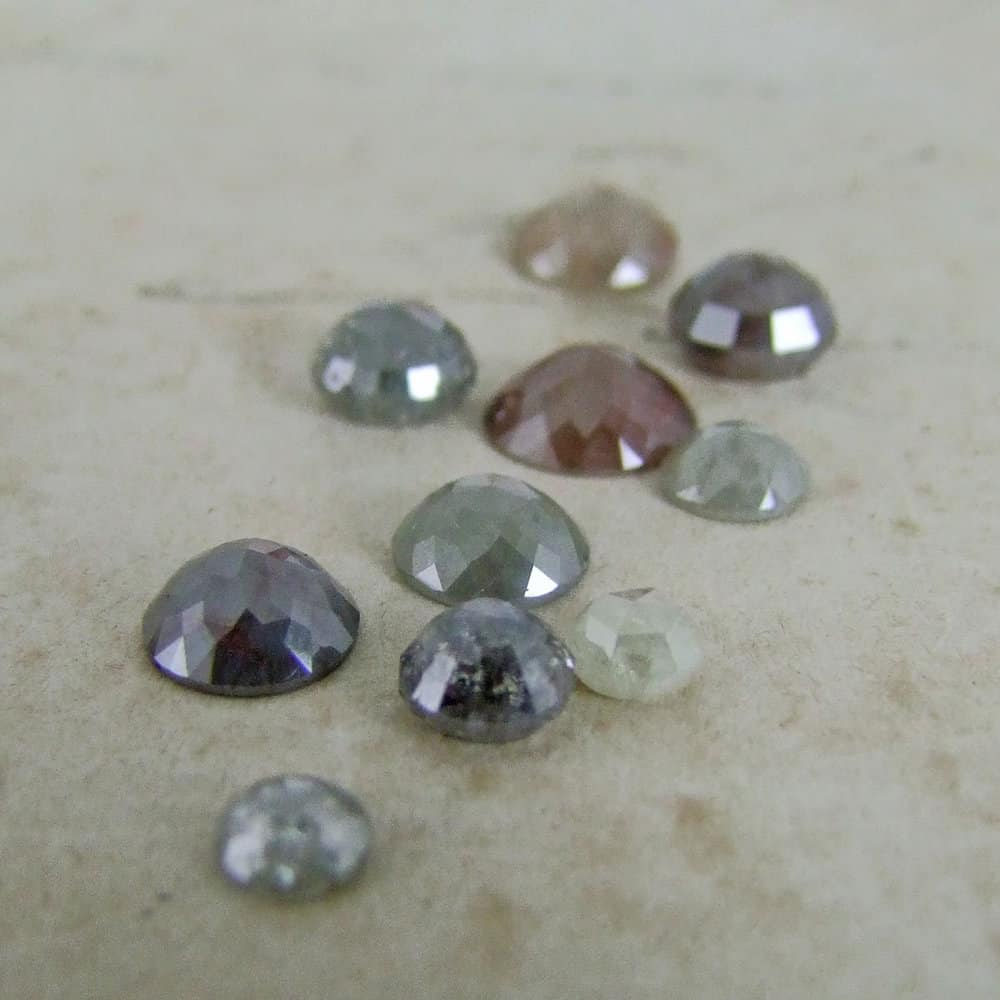 Rose Cut Diamonds