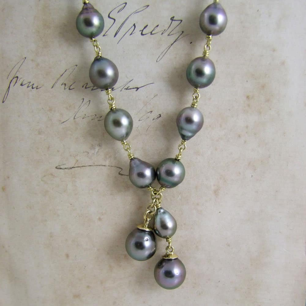 Tahitian Pearl Handmade Necklace