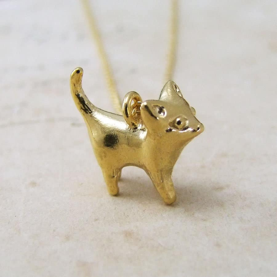 Kitty cat pendant by alexis dove kitty cat pendant aloadofball Image collections