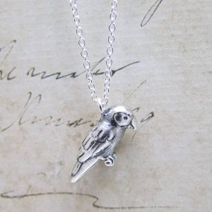 Oxidised Parrot Necklace