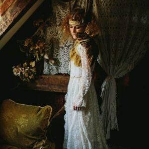 feather bride