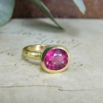 Rubelite Tourmaline Ring