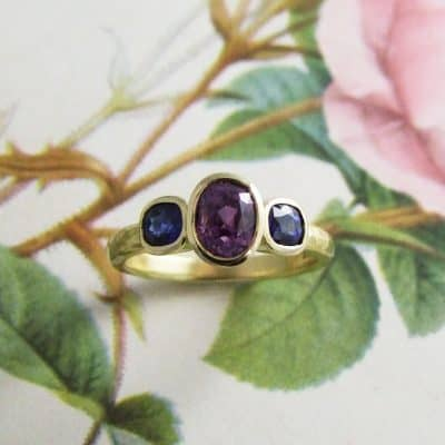 Amara Three Stone Ring