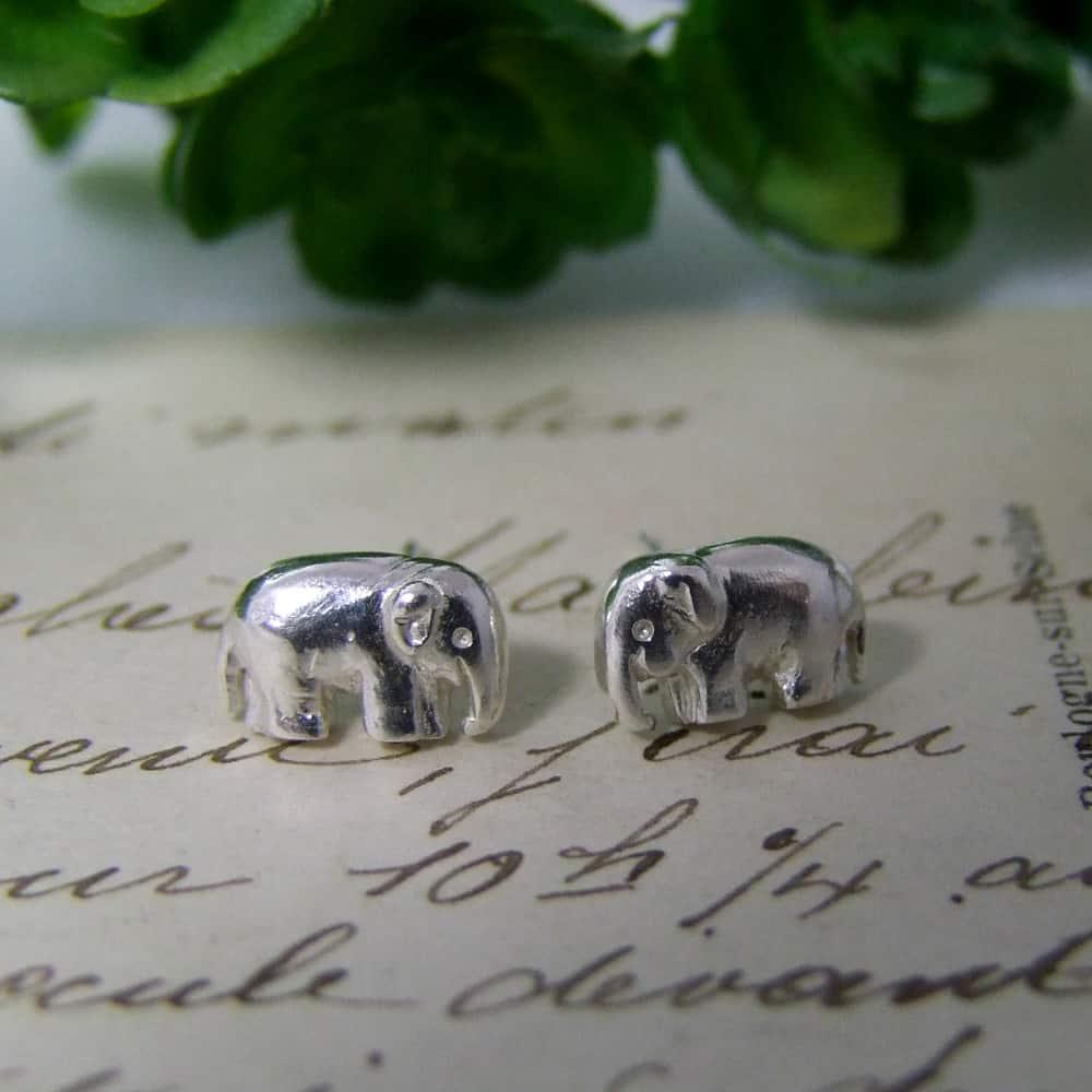 5c0b8ac0bd7f1 Elephant Stud Earrings