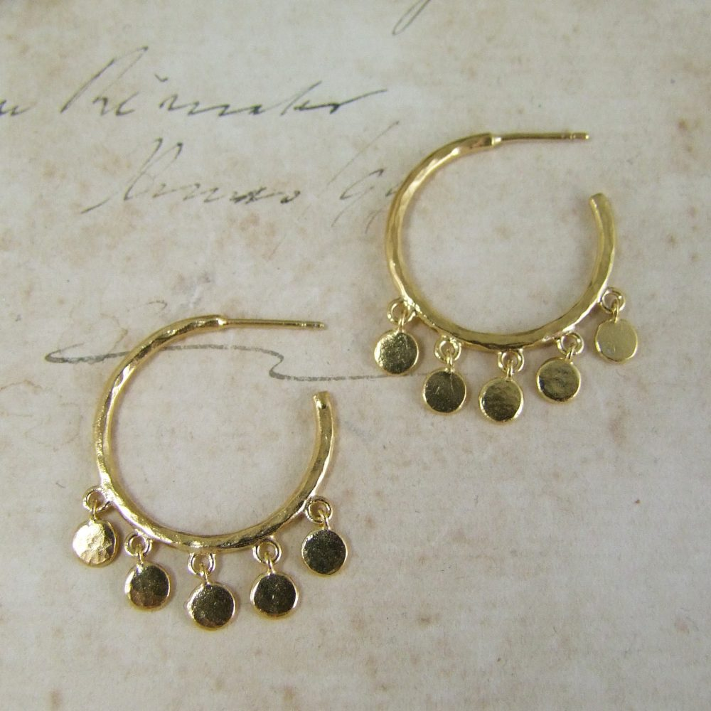 Helios Hoop Earrings