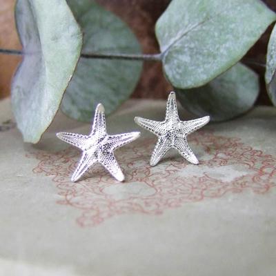 Alexis Dove, Sea shell jewellery, starfish studs