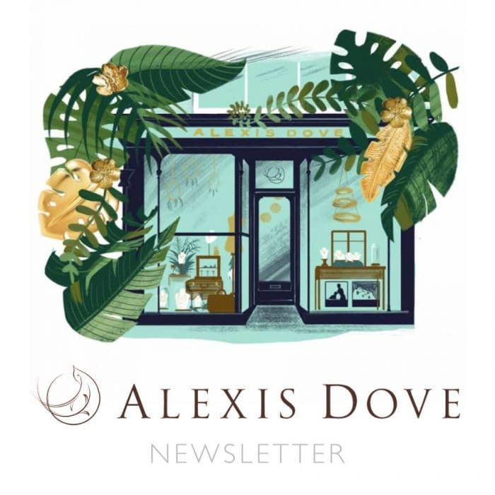 Alexis Dove Newsletter
