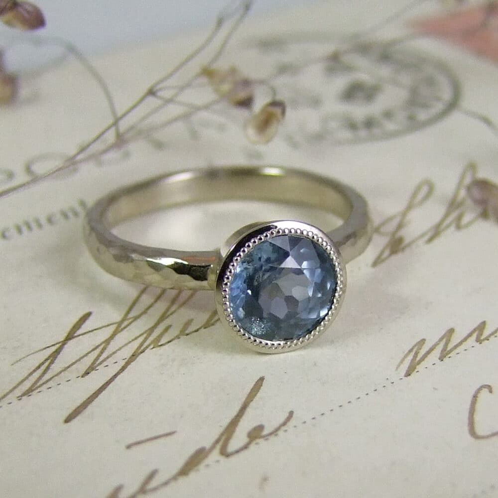 Malawi Sapphire Engagement Ring